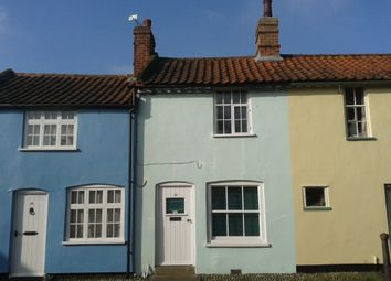 Thumbnail 1 bed terraced house to rent in Steeple End, Halesworth