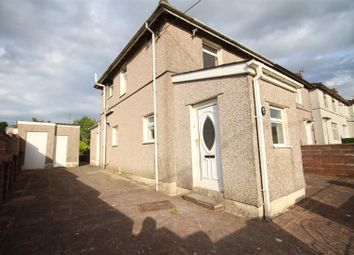 Thumbnail 3 bed semi-detached house for sale in Penrhiw Avenue, Oakdale, Blackwood