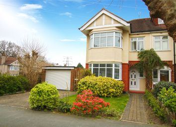 Thumbnail 3 bed semi-detached house for sale in West Byfleet, Surrey