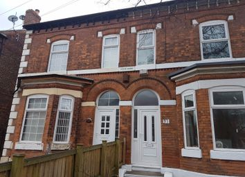 Thumbnail 5 bedroom terraced house to rent in Osborne Road, Manchester