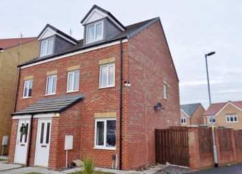 Thumbnail 3 bed semi-detached house for sale in Oval View, Scholars Rise, Middlesbrough