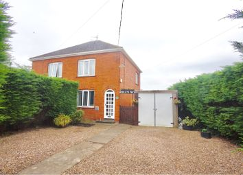 Thumbnail 2 bed semi-detached house for sale in Coningsby Road, Coningsby