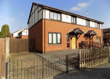 Thumbnail 3 bedroom semi-detached house for sale in Taylor Street, Gorton, Manchester