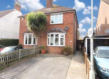 Thumbnail 3 bed semi-detached house for sale in Albemarle Road, Willesborough, Ashford
