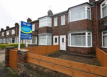 Thumbnail 2 bedroom terraced house to rent in Roslyn Road, Hull