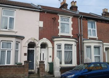 Thumbnail 4 bed terraced house to rent in Baileys Road, Southsea