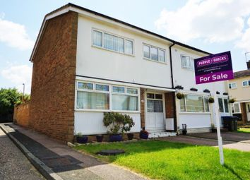 Thumbnail 3 bed semi-detached house for sale in Church Leys, Harlow