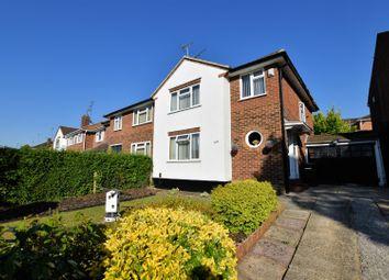 Thumbnail 3 bed semi-detached house for sale in Overdown Road, Tilehurst, Reading
