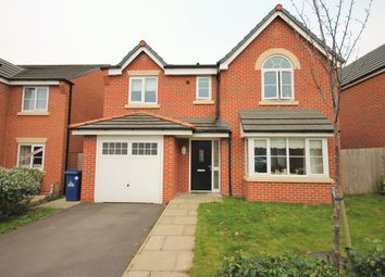Thumbnail 4 bed detached house for sale in Chadwick Lane, Widnes