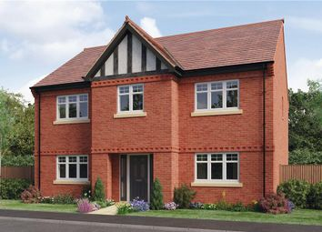 "Thumbnail 5 bed detached house for sale in ""Charlesworth"" at Woodcock Way, Ashby-De-La-Zouch"