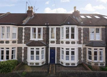 Thumbnail 4 bedroom terraced house for sale in Seymour Road, Bishopston, Bristol