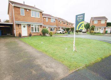 Thumbnail 3 bed detached house for sale in St Bridgets Close, Fearnhead, Warrington