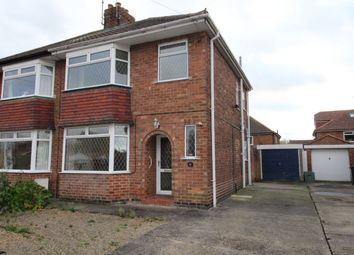 Thumbnail 3 bed semi-detached house for sale in Meadowfields Drive, York