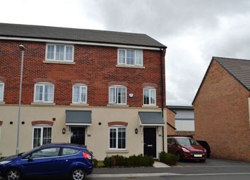 Thumbnail 4 bed end terrace house for sale in Damselfly Road, Dragonfly Meadows, Northampton