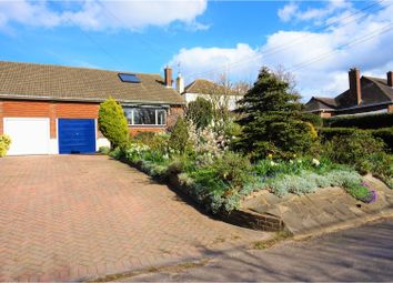 Thumbnail 3 bed semi-detached bungalow for sale in Green Court Road, Crockenhill