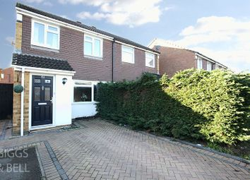 Thumbnail 3 bed semi-detached house for sale in Coltsfoot Green, Luton