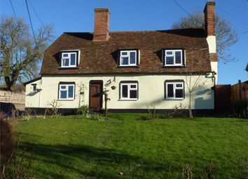Thumbnail 4 bed detached house for sale in Mill Lane, Pebmarsh, Essex