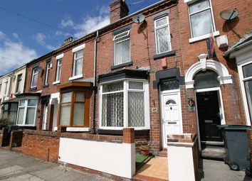 Thumbnail 3 bed terraced house for sale in Smithpool Road, Mount Pleasant, Stoke On Trent