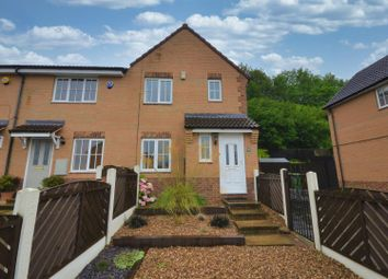 Thumbnail 3 bed town house for sale in Meadowcroft Mews, Castleford