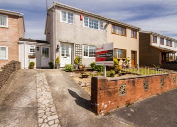 Thumbnail 3 bed semi-detached house for sale in Brookbank Close, Aberdare