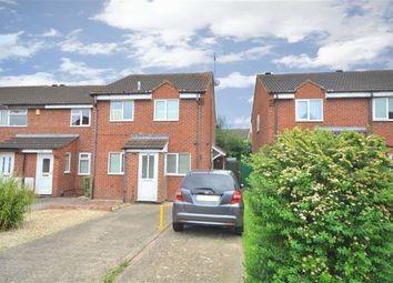 Thumbnail 1 bedroom end terrace house for sale in Honeybourne Drive, Cheltenham, Gloucestershire