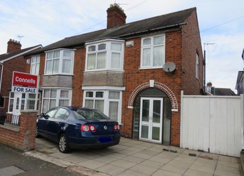 Thumbnail 3 bed semi-detached house for sale in Clumber Road, North Evington, Leicester