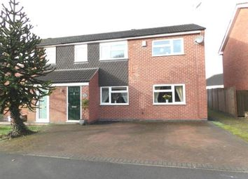 Thumbnail 4 bed semi-detached house for sale in Breachfield Road, Barrow Upon Soar, Loughborough, Leicestershire