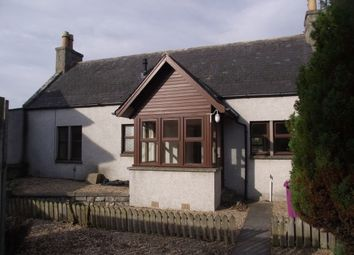 Thumbnail 2 bed end terrace house to rent in Elgin Road, Lossiemouth