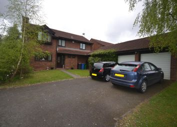 Thumbnail 4 bed detached house for sale in Hudson Close, Old Hall, Warrington
