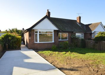 Thumbnail 2 bedroom semi-detached bungalow for sale in Mill Lane, Felixstowe