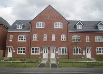 Thumbnail 3 bed town house to rent in Kiveton Walk, Warrington, Cheshire