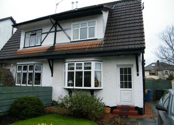 Thumbnail 2 bed semi-detached house to rent in Hawthorn Avenue, Bearsden, Glasgow