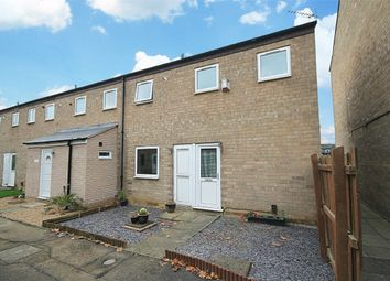 Thumbnail 2 bedroom end terrace house for sale in Coneygree Court, Little Billing, Northampton