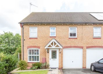 Thumbnail 3 bed end terrace house for sale in Mosel Close, Wellingborough