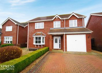 Thumbnail 4 bed detached house for sale in Tyler Crescent, Butterwick, Boston, Lincolnshire
