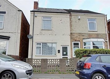 Thumbnail 2 bed semi-detached house to rent in Queen Victoria Road, New Tupton, Chesterfield, Derbyshire