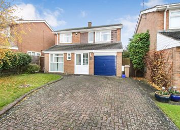 Thumbnail 4 bed detached house to rent in Brompton Close, Luton