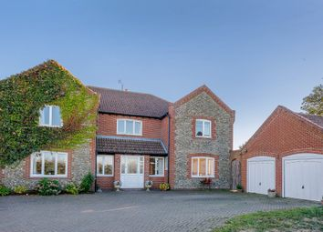 Thumbnail 4 bed detached house for sale in Happisburgh Road, White Horse Common, North Walsham