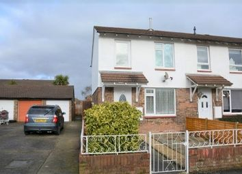 Thumbnail 3 bed end terrace house for sale in Canterbury Close, North Worle, Weston-Super-Mare