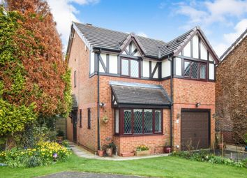 Thumbnail 4 bed detached house for sale in Rosewood Drive, Winsford