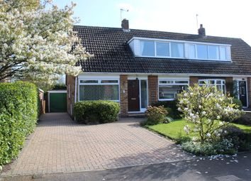 Thumbnail 4 bedroom semi-detached house for sale in Causeway, Thorpe Willoughby, Selby