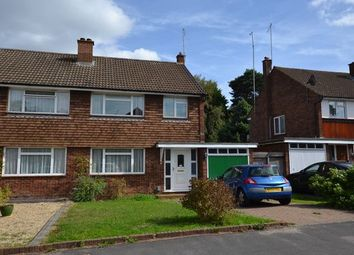 Thumbnail 3 bed semi-detached house for sale in The Verne, Church Crookham, Fleet