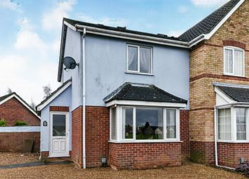 Thumbnail 2 bed end terrace house for sale in Heron Road, Wisbech