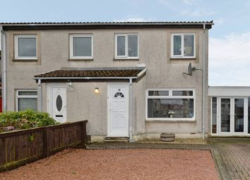 Thumbnail 3 bed semi-detached house for sale in Finlay Avenue, East Calder, Livingston