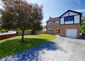 Thumbnail 4 bed detached house for sale in Overton Road, Bangor-On-Dee, Wrexham
