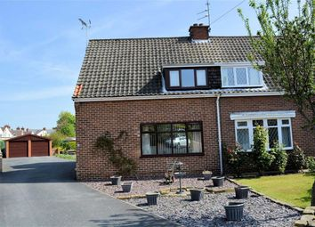 Thumbnail 4 bed semi-detached house for sale in Newcroft, Selby