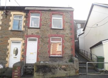 Thumbnail 3 bed end terrace house to rent in Danygraig Street, Graig, Pontypridd