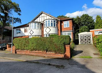 Thumbnail 4 bedroom semi-detached house for sale in Stobart Avenue, Prestwich, Manchester