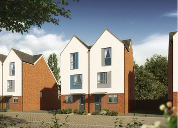 "Thumbnail 3 bed terraced house for sale in ""The Bickleigh"" at Langdon Road, St. Thomas, Swansea"