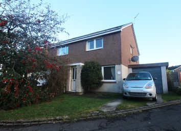 Thumbnail 2 bed semi-detached house for sale in Strathbeg Drive, Dunfermline, Fife